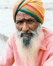 India, Belur, Chennakeshava Temple, Portrait, Indian Man, man, Mendicant, Wanderer,
