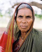 India, Aihole, Portrait, Indian Woman, Woman, Elderly, Old, Closeup, 1star