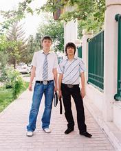 Turkmenistan, Ashgabat, WALL, Wallpaper, Assignment, film, Kodak, 67, Andrew Rowat,