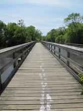 Line Made by running on the bridge, NJ, 2011 Digital Photograph, 38X27cmSo-Long,