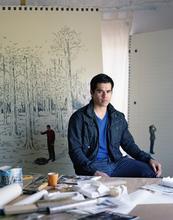 Hugo Lugo, artist.