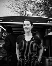 Mexico, Tijuana, Adria Montaño, chef, portrait, female, food, cook