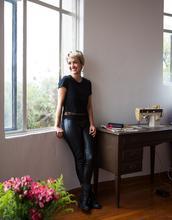 Marisol Centeno, textile designer.