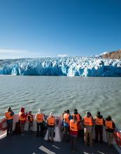 Chile, glacier, excursion, boat, travel, ice, patagonia