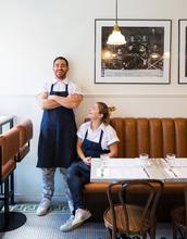 Alex Cohen and Raegen Steinberg of Arthurs Nosh Restaurant