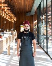 Butcher Xavier Fillion of Boucherie Grinder