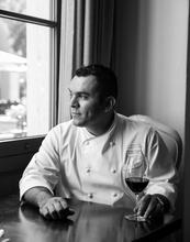 food, chef, rosewood hotel, wine, portrait