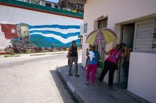 Baracoa, Cuba, kissing