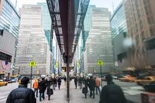 Midtown, New York, Reflection, Specular Reflection