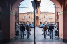 Bologna, City, Reflections, Specular Reflection
