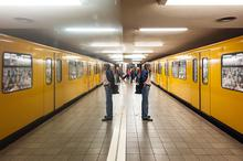 Berlin, City, Reflections, Specular Reflection, Subway