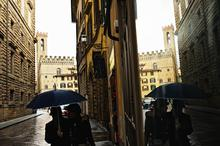 City, Couple, Firenze, Florence, Reflection, Reflections, Specular Reflection, rain,