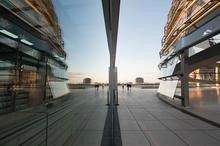 Berlin, City, Reflections, Specular Reflection, Tourism, Travel