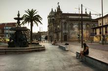 Oporto, Porto, Portogallo, Portugal, Praça de Gomes TeixeiraPorto