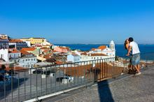 Kissing, Lisbon, Lisbona, Portogallo, Portugal