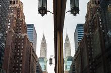 City, New York, Reflections, Specular Reflection