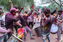 India, Barsana, Holi Festival