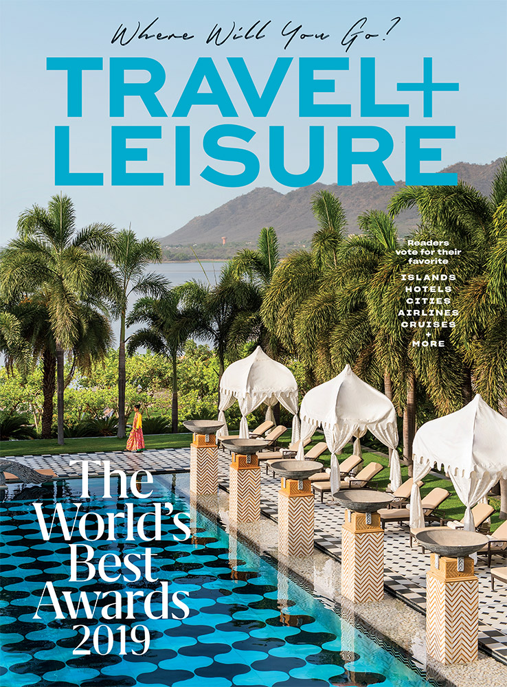 The Leela Palace for Travel + Leisure