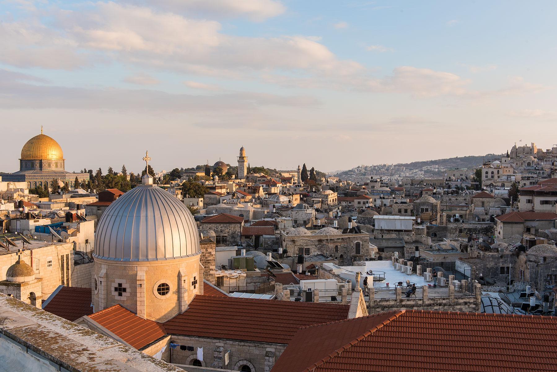 Jerusalem for Travel + Leisure