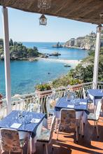 Italy, Sicily, Fine, Dining, Beach, View