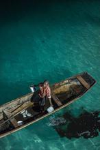 Zanzibar, Ink, Squid, Boat