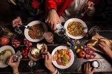Israel, Tel Aviv, Night Life, Street Food, Mediterranean