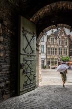 Belgium, Ghent, Gate, Castle