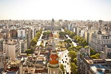 Argentina, Buenos Aires, City View