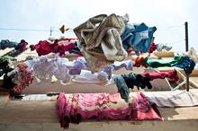 Israel, Tel Aviv, Intimacy under the Wires, 2012, Laundry, travel